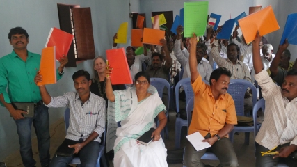 Everyone who attended our conference in Tuni, India received a copy of Apostles' Doctrine in their native tongue of Telugu.